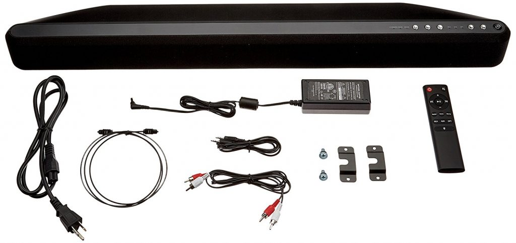 Bluetooth Sound Bar with Built-In Subwoofer