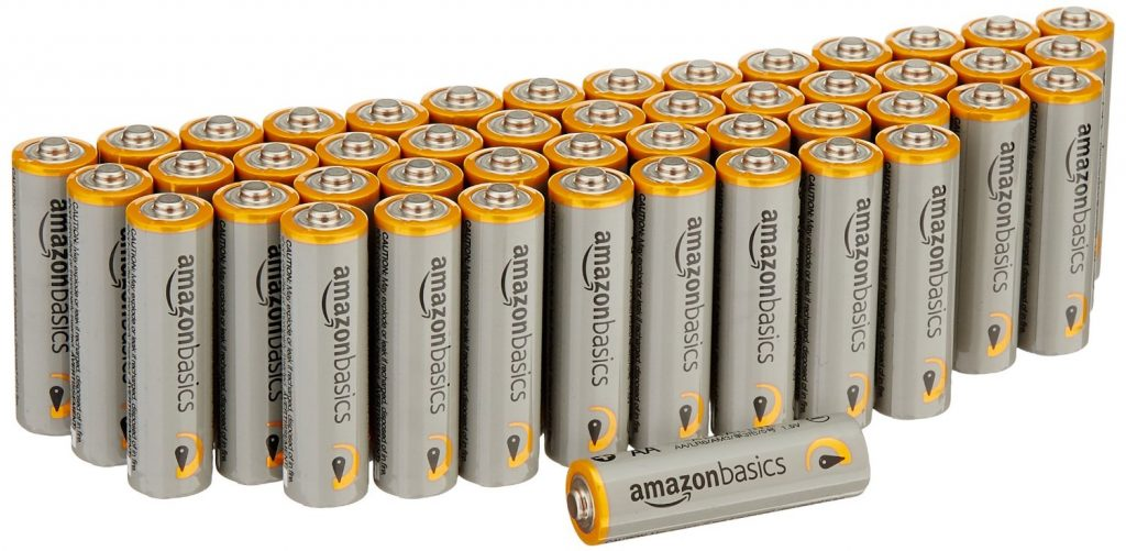 AA Performance Alkaline Batteries 48-Pack