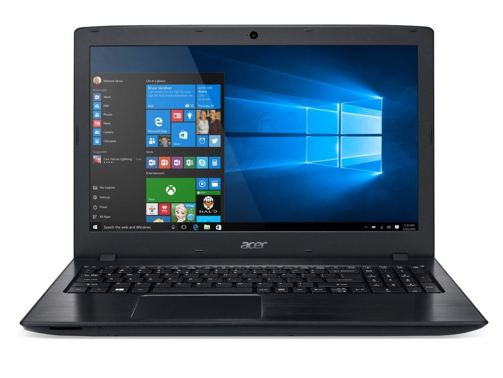 Acer Aspire 15-6-Inch Full HD Notebook Intel Core i3-7100U Processor