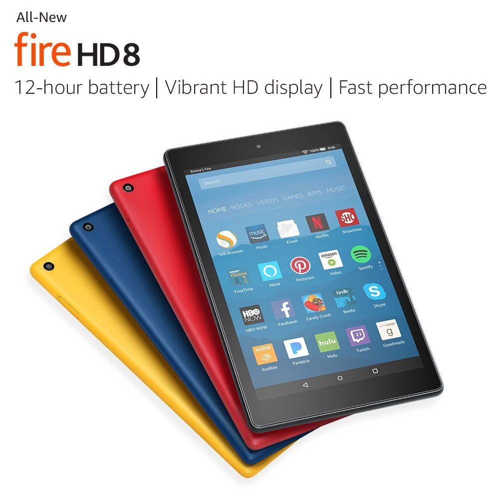 All-New Amazon Fire HD 8 Tablet with Alexa