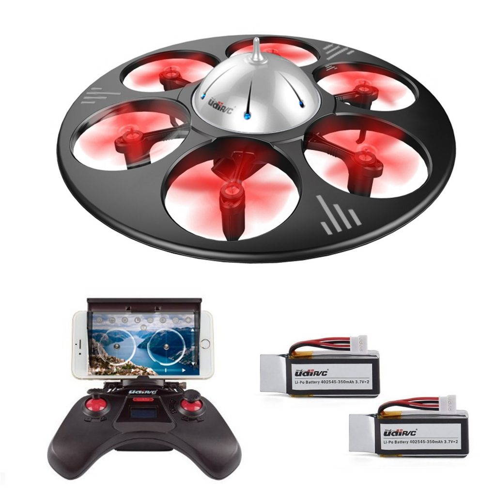 Axis Gyro FPV Drone with HD Camera RTF Quadcopter Bundle
