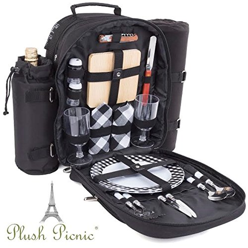 2 person picnic basket backpack