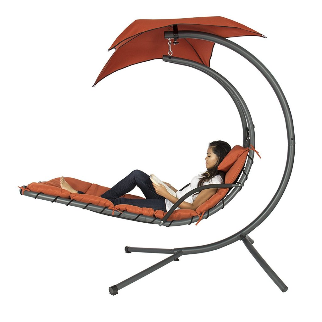 Hanging Chaise Lounger Hammock Chair