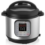 Instant Multi-Use Programmable Pressure Cooker Slow Cooker