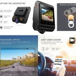 Dashboard Camera Recorder Dash Cam with Sensor Wide-Angle LCD WiFi Night Mode USB Charger