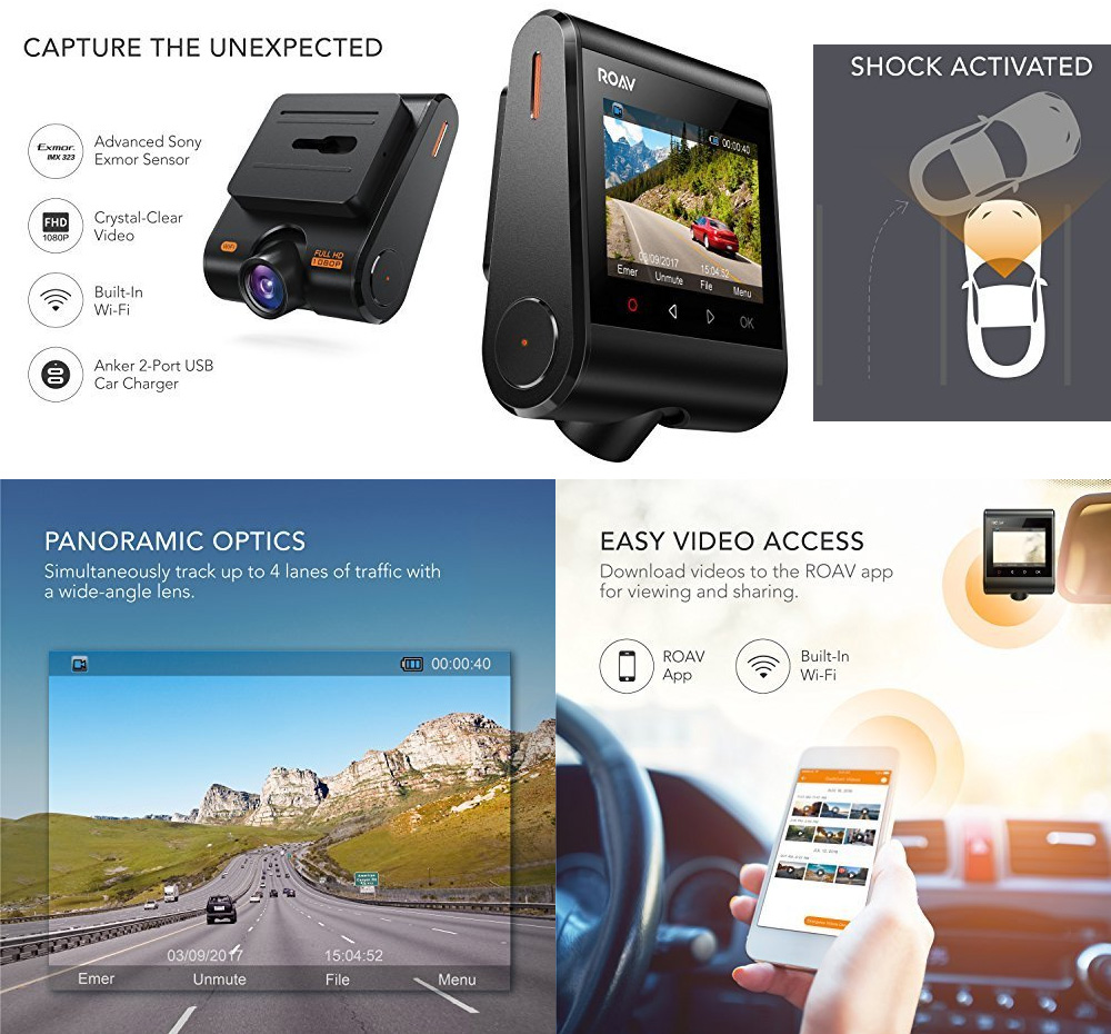 Dashboard Camera Recorder Dash Cam
