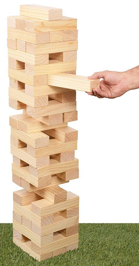 Jumbo Pull N Stack Jenga Game