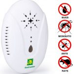 Neatmaster Ultrasonic Pest Repellent – Electronic Pest Control for Insect, Mice, Roaches, Bugs, Fleas, Mosquitoes and Spiders